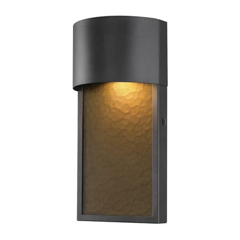 led wall sconce outdoor globe electric sutherland 1 light bronze outdoor