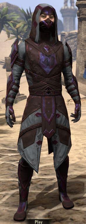 elder scrolls  dark brotherhood rubedo leather eso