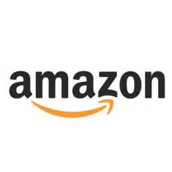 Amazon font here refers to the font used in the logo of Amazon, which ...