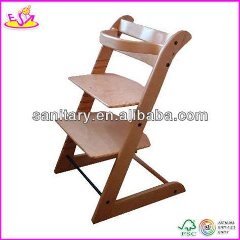 2017 new fashion baby high chair solid wood high chair