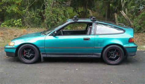 1991 Honda Crx Si Jdm Dohc Vtec B16a Turbo  Classic Honda