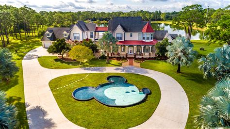 Disney Home by Disney Themed Home For Sale With A Mickey Mouse Pool