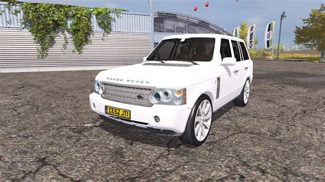 land rover range rover supercharged   pour