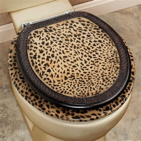 Cheetah Print Bathroom Set by Cheetah Bathroom Set Toilet Seat Home Interiors