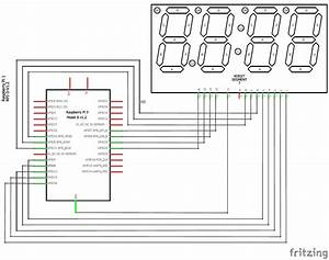 Raspberry Pi Digital Clock By Interfacing A 4