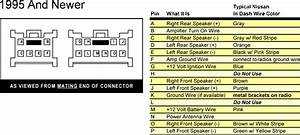 Alba Ic105 In Car Cd Radio Wiring Connection For Nissan Micra 1999