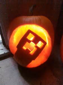 Minecraft Creeper Pumpkin Stencils by Excellent Minecraft Halloween Pumpkin Ideas Martian Outpost