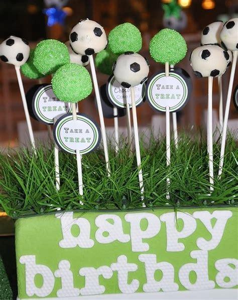 ideas  soccer cake pops  pinterest