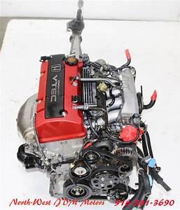 00 01 02 03 Jdm Honda S2000 S2k Ap1 F20c 2 0l Vtec Engine