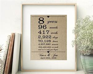 Inspirational eighth wedding anniversary gifts for him for 8th wedding anniversary gifts for him