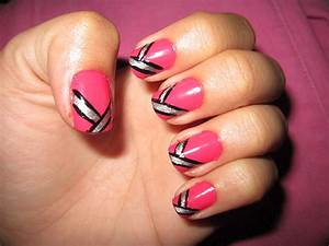 35 easy and amazing nail art designs for beginners free With nail art design at home