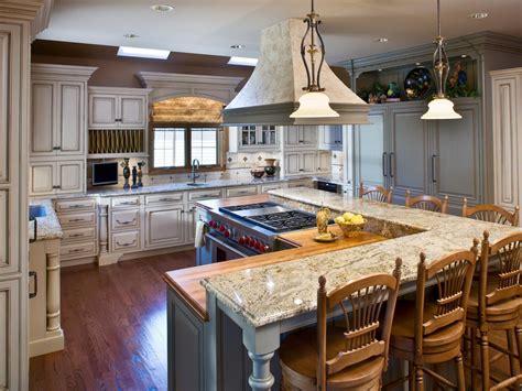 kitchen with island layout kitchen layout templates 6 different designs hgtv