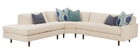 designer sofas zoey quot designer style quot mid century modern sectional fabric sectional sofas