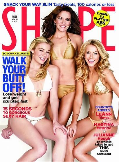 Martina Mcbride Shape Magazine Julianne Bikini Hough