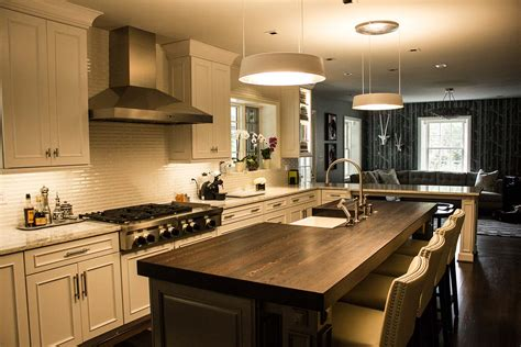kitchen island with wood top maryland wood countertops custom wood tables tops and 8282