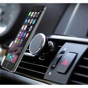Support Aimant Telephone Voiture : support voiture magn tique pour samsung galaxy j5 2016 aimant noir ventilateur universel 360 ~ Voncanada.com Idées de Décoration