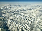 Flying over Siberia was beautiful! This was the ...