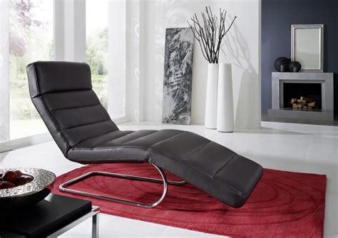 chaise longue en cuir design chaise longue cuir design controlbody cuir 65 cm