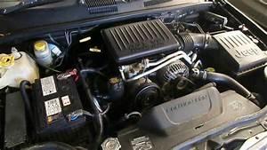 Jeep Grandcherokee 2002 4 7 V8  Black Rocker Cover