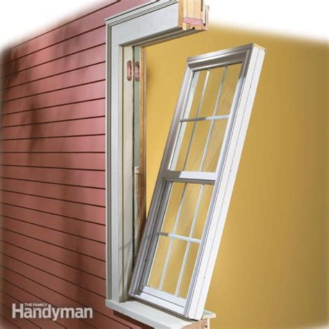 How To Install Vinyl Replacement Windows — The Family Handyman