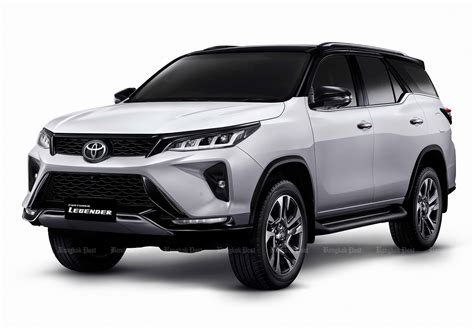 In the bs6 era, the fortuner is powered by 2694 cc petrol engine which produces 164bhp of power and 245nm of. Toyota Fortuner Facelift version Exterior - PakWheels Blog