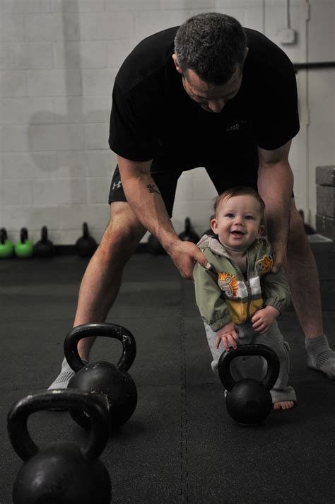 kettlebell baby training kettlebells child star workout rkc