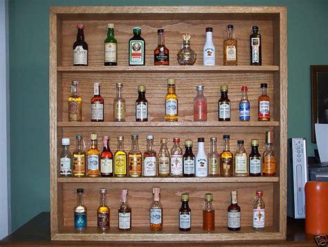 bottle shelf display ebay