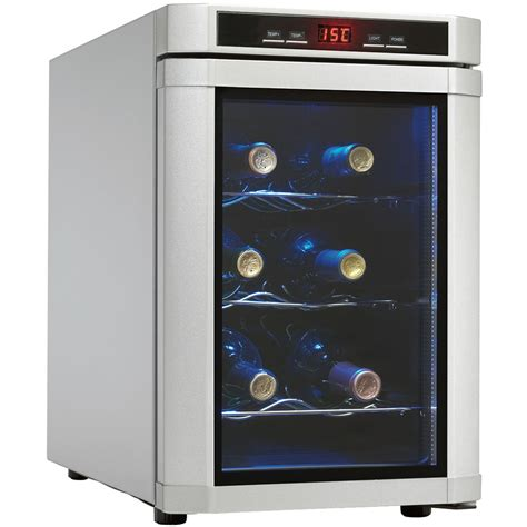 countertop wine cooler danby maitre d 6 bottle countertop wine cooler platinum