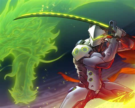 1280x1024 Genji Overwatch Art 1280x1024 Resolution Hd 4k