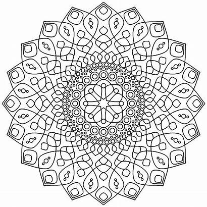 Mandala Coloring Pages Calming Mandalas Adults Relaxation