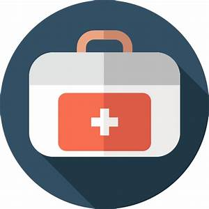 First aid kit - Free medical icons