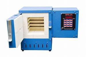 242in U00b3 Muffle Furnace W   Digital Controller