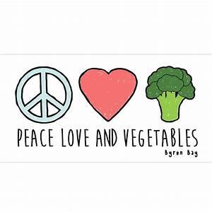 Love And Peace : plv sticker peace love vegetables ~ A.2002-acura-tl-radio.info Haus und Dekorationen
