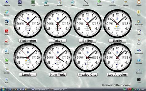 bitlein bclocks world clocks windows