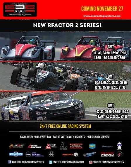 sim racing system sim racing system comes back to rfactor 2 pitlanes sim racing