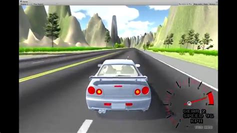 [wip] Unity Drifting And Racing Game Nissan Skyline R34