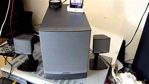 Bose Companion 3 Series Ii Subwoofer With Small Speakers