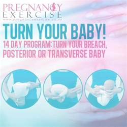 how to turn a breech posterior or transverse baby