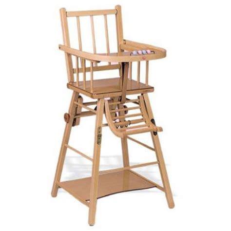 chaise haute bébé occasion chaise haute bébé bois occasion ouistitipop