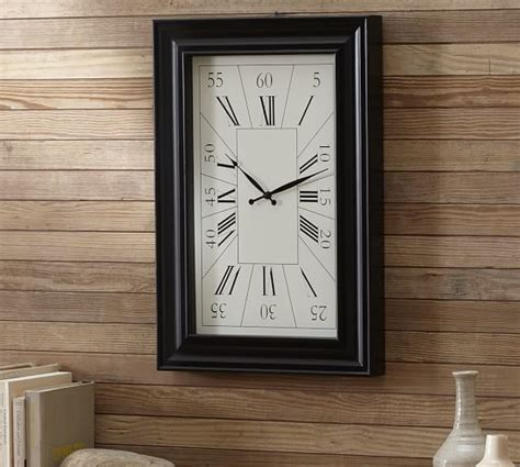 large rectangular wall clock image gallery large rectangular wall clocks