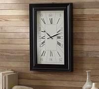 rectangular wall clocks Rectangular Wall Clock   Pottery Barn