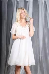 Vintage Sheer Chiffon Nightgowns