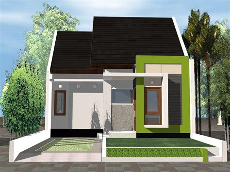 desain rumah minimalis satu lantai
