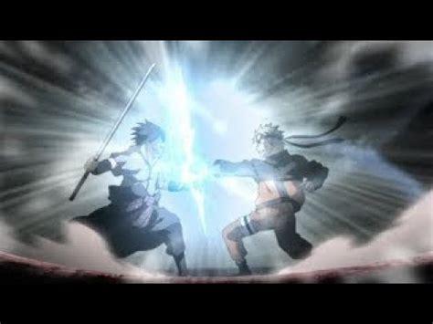 naruto  sasuke final fight alternate story youtube