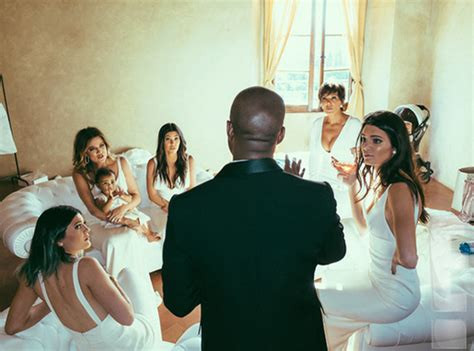 Nouvelles Photos Du Mariage De Kim Kardashian Et Kanye
