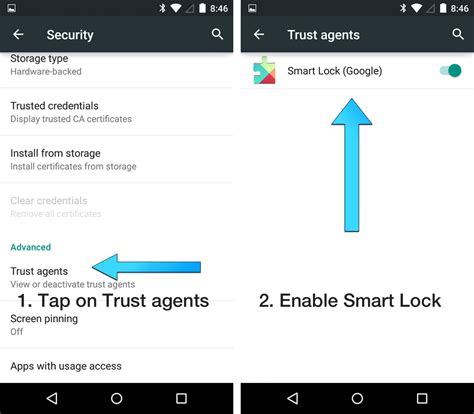 smart lock android how to use lollipop s smart lock feature trusted places