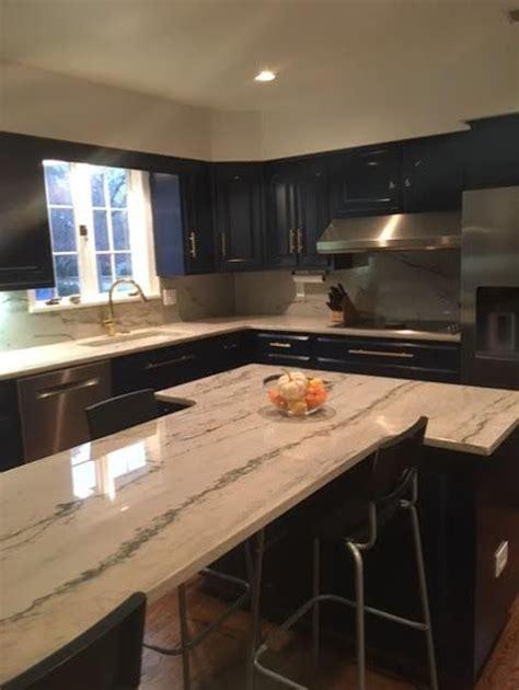 Calacatta Quartzite Countertops - calacatta quartzite white macaubas quartzite kitchen