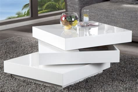 table basse carree blanche table basse carr 233 e design en image
