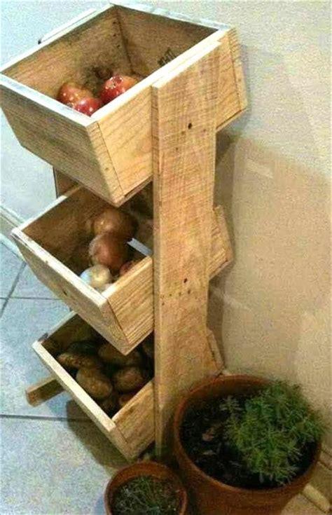 unique diy wooden pallet vegetable organizers pallets