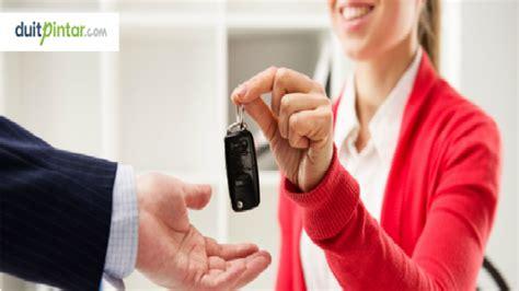 contoh surat  kredit mobil